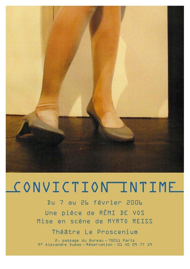 conviction intime - myrto reiss
